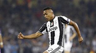 Alex Sandro con la Juventus