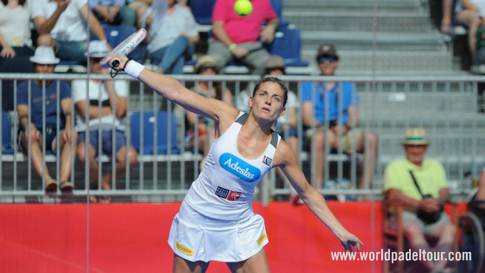 Alejandra Salazar, en semifinales de Valladolid