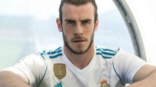 Bale con la nueva equipación del Madrid