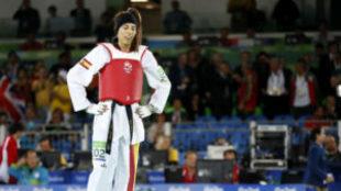 Eva Calvo, en los Juegos de Río.