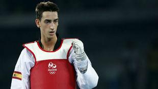 Jesús Tortosa, en los Juegos de Río.