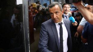 Jorge Mendes, a la entrada de los juzgados