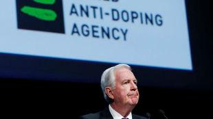 Craig Reedie, presidente de la Agencia Mundial Antidopaje.