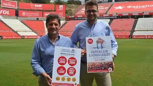 Lluís Fàbregas, director general, y Jose Maria Andreu Solé,...