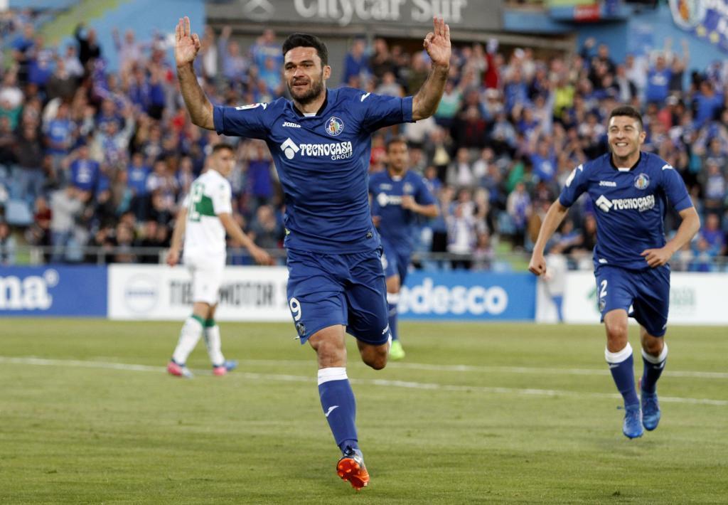 Jorge Molina (Getafe): 20 goles, 5 asistencias, 53 tiros y 43 regates