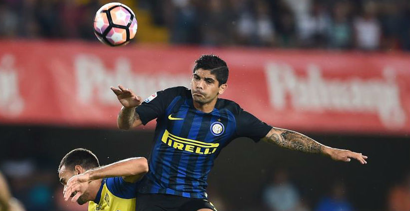 Having Spent Two Years At The Sanchez Pizjuan Ever Banega Is To Head Back Sevilla And Sign A Three Year Deal Leave Inter