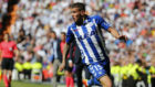 Theo jugando en el Bernabéu.