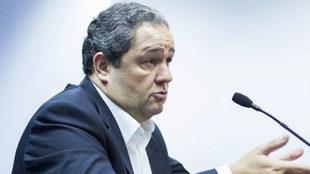 Tino Fernández, presidente del Deportivo de la Coruña