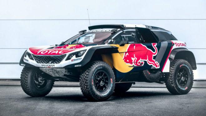 El nuevo Peugeot 3008 DKR Maxi.