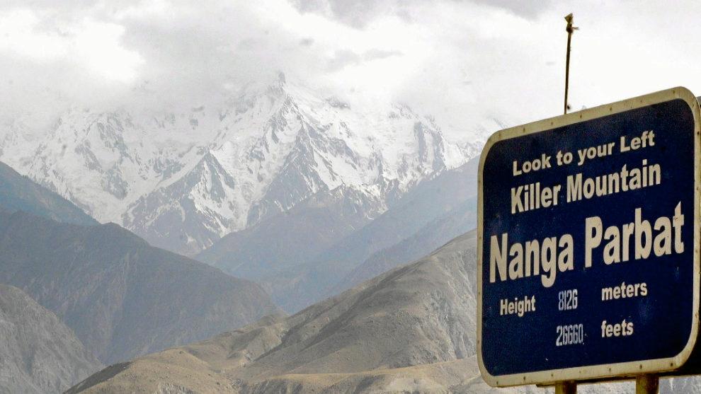 El Nanga Parbat.