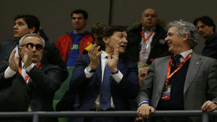De izquierda a derecha: Alejandro Blanco, José Ramón Lete y Miguel...