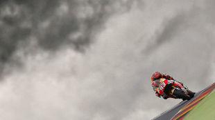 Marc M�rquez ha sido sexto en el primer libre del GP de Alemania.