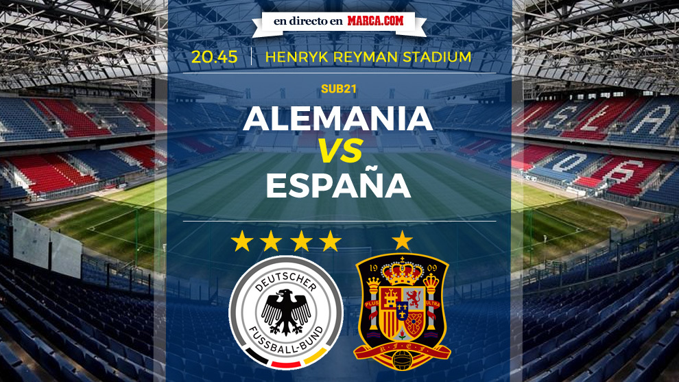 España vs Alemania - Final Europeo Sub 21