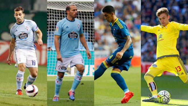 Jonny, Marcelo Díaz, Pablo Hernández y Rubén Blanco se juegan un...