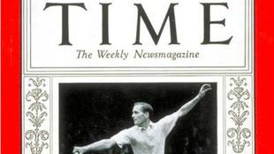 Von Cramm en la portada de la revista estadounidense Time