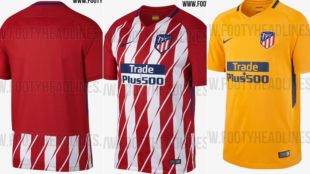 a97a01d1b72b7 Atlético de Madrid  Zarpazos en la nueva camiseta del Atlético ...