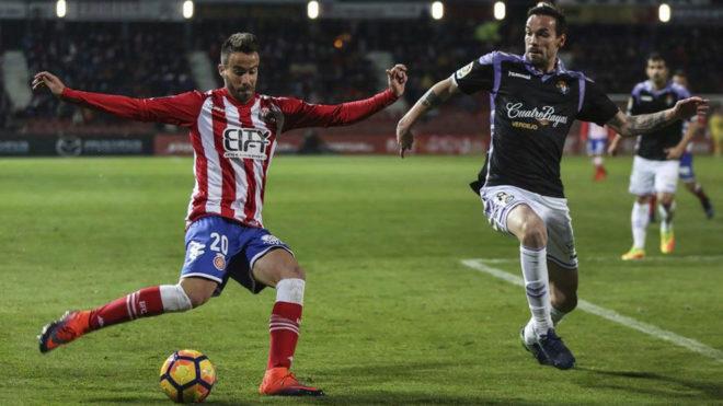 Sebas Coris, en un partido ante el Valladolid.