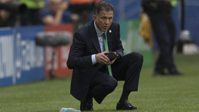 Osorio, en duelo de México ante Rusia.