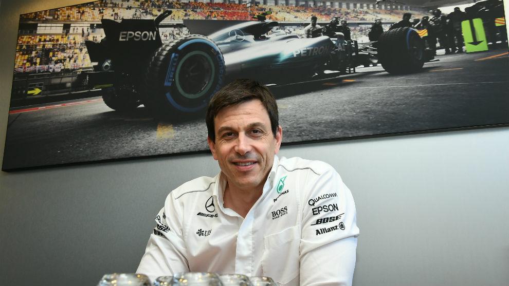 Toto Wolff, director de Mercedes AMG