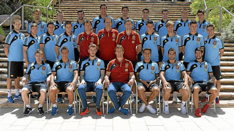 Hilo de la selección de España sub 21 e inferiores 14989114953670