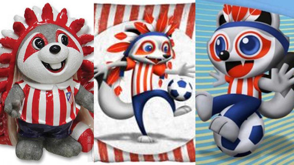 La evolución de Indi, la mascota del Atlético de Madrid