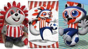 La evoluci�n de Indi, la mascota del Atl�tico de Madrid
