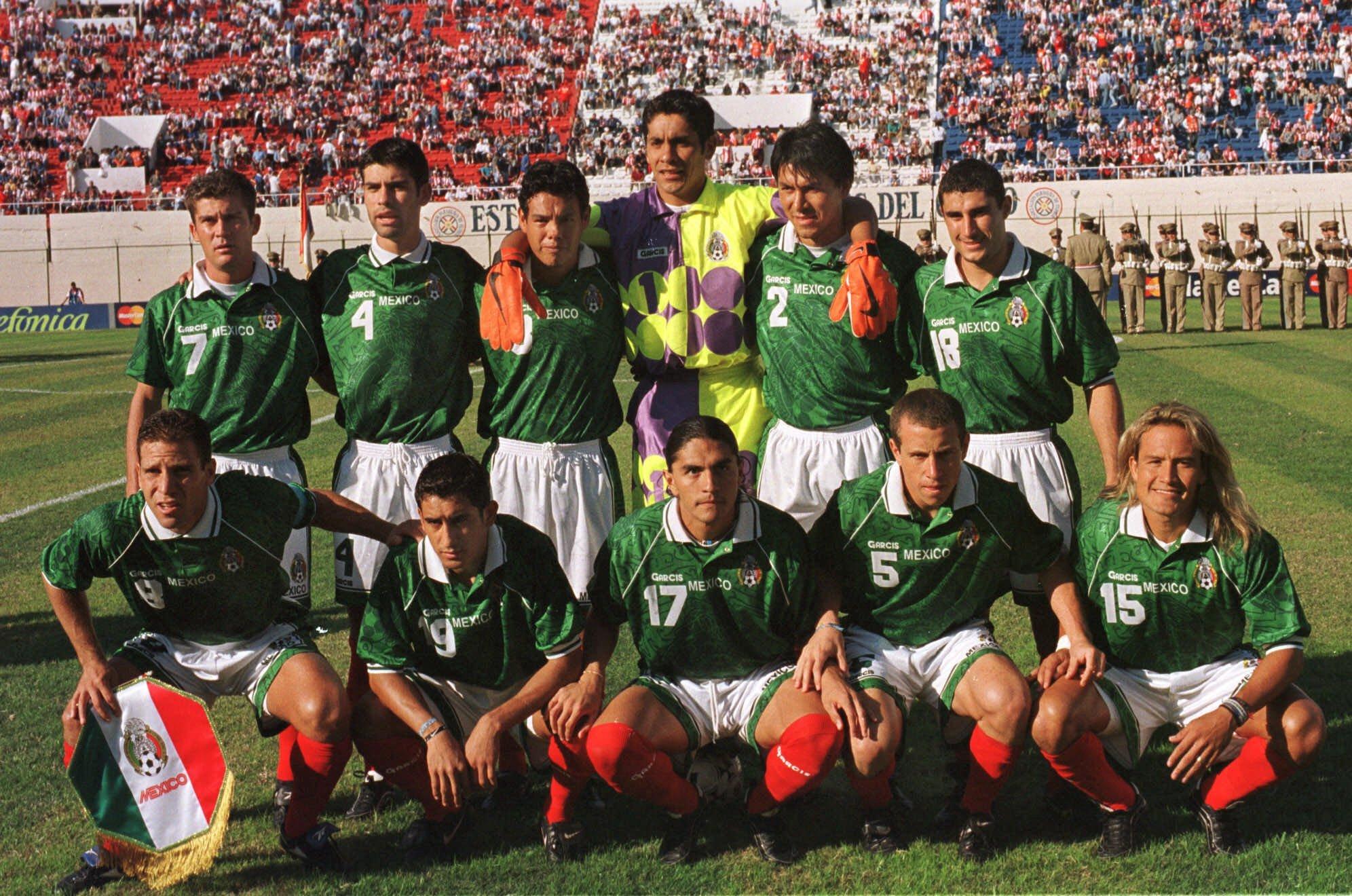 Foto oficial de México previo a las semifinales de la Copa América...