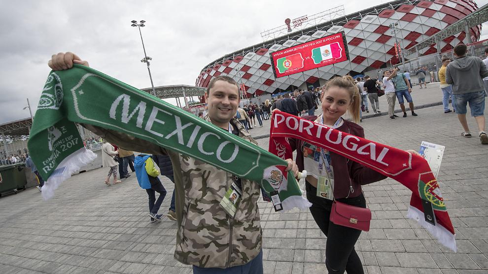 El Spartak Stadium tendrá un gran ambiente