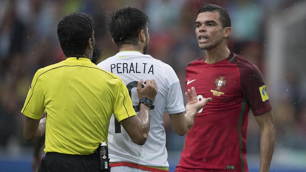 Pepe y Oribe se enfrascaron en una discusión constante