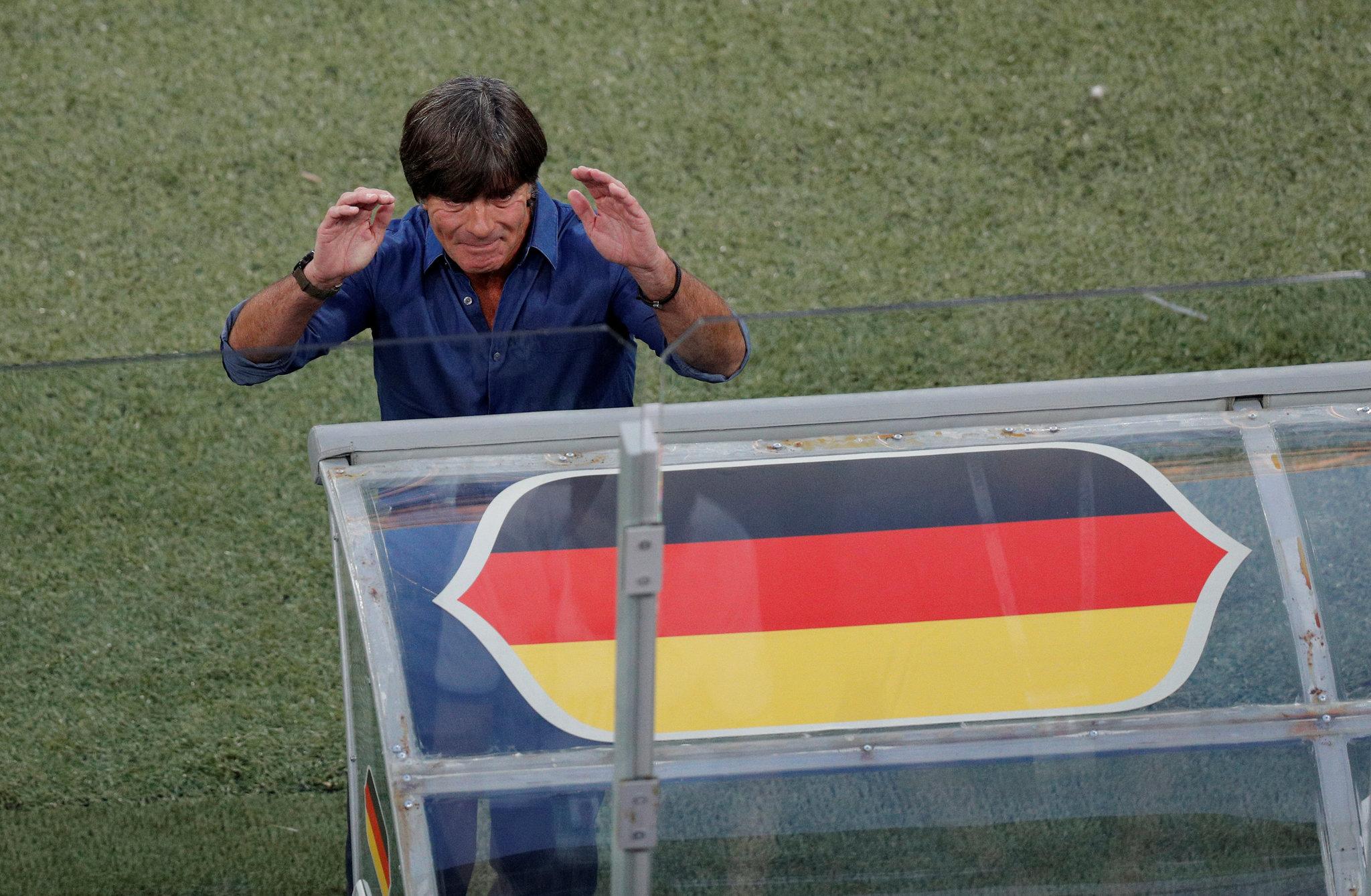 Joachim Löw durante la final de la Copa Confederaciones.