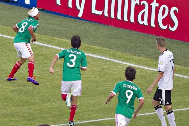 Gol de Julio Gómez en el 2011.