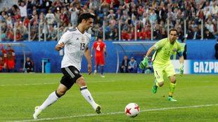 Alemania ganó su primer título de Confederaciones.