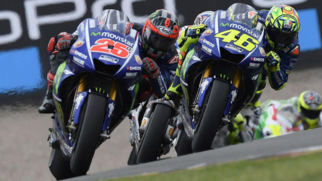 Viñales adelanta a Rossi en Sachsenring.