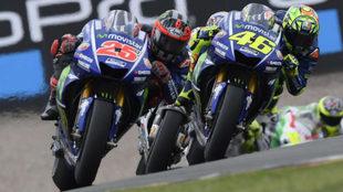 Vi�ales adelanta a Rossi en Sachsenring.