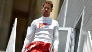 Vettel, en el pasado Gran Premio de Azerbaiy�n.
