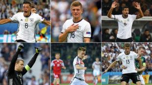 El once de jugones que no ha necesitado Alemania para ganar la Confederaciones