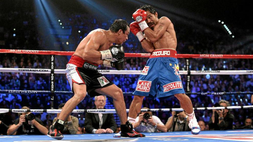 Manny Pacquiao mantiene la guardia cerrada por la peligrosidad de Juan...