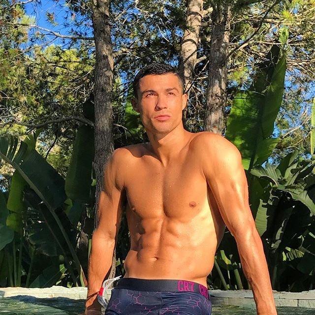 Imagen que compartió Cristiano Ronaldo para dar los buenos días