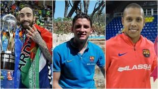 Ricardinho, Dyego y Ferrao son los candidatos a Mejor Jugador del Año...