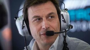 Toto Wolf, director efecutivo de Mercedes