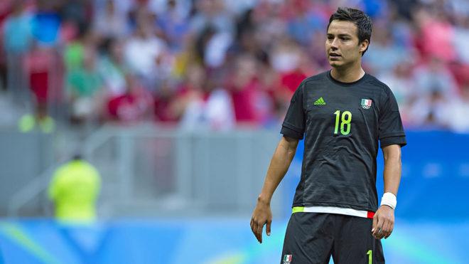 Erick Torres en juego de la selección