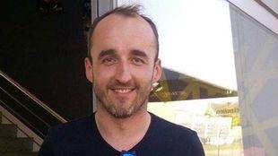 Robert Kubica, en el circuito de Cheste