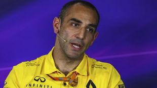 Cyril Abiteboul, director deportivo de Renault
