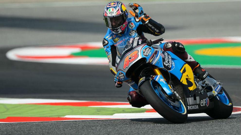 Jack Miller, en el Gran Premio de Catalunya