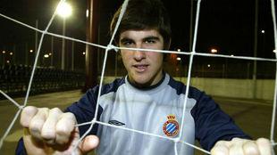 David Fernández, con 19 años, en un reportaje de MARCA