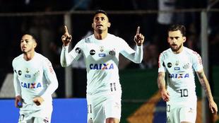 El Santos consiguió rehacerse tras el gol local.