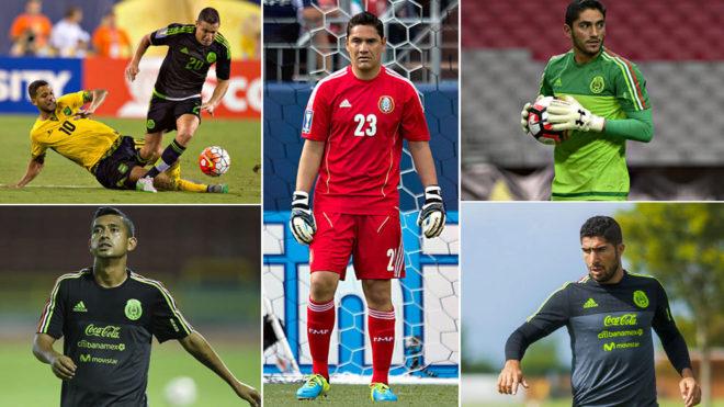 Muñoz, Corona, Pereita, Dueñas y Hernández, los únicos jugadores...