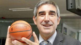 Jordi Bertomeu, presidente de la Euroliga