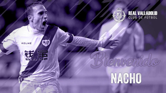 José Ignacio Martínez García, conocido como Nacho, nuevo jugador...