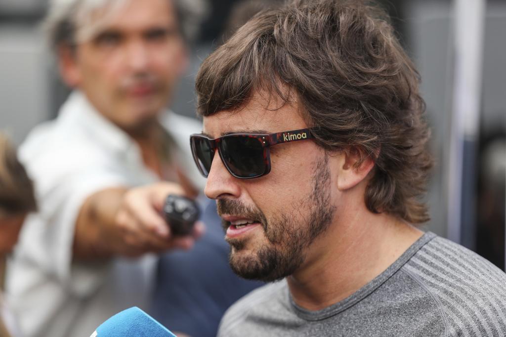 Resultado de imagen de Fernando Alonso f1 austria 2017